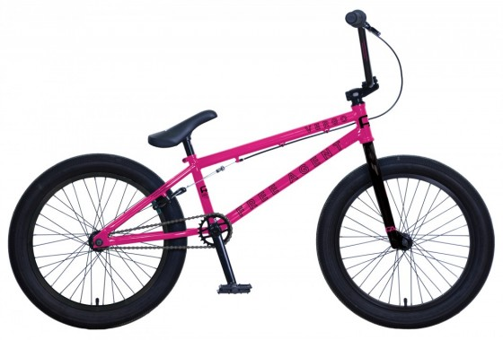 BMX FreeAgent Vergo Bright Pink
