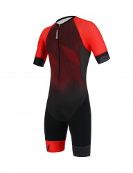 Комбинезон Santini Imago Short Sleeve Trisuit Red
